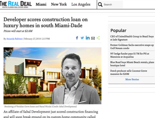 The Real Deal - Pascal Nicolai Sabal Development